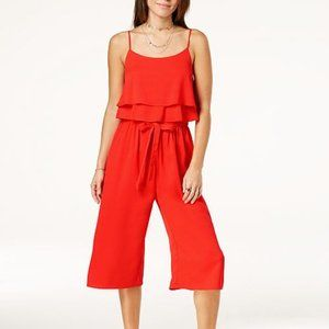 NWT Ruffled Popover Jumpsuit - L